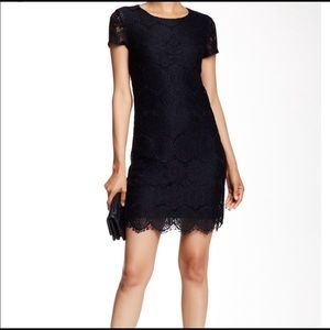 Laundry by Shelli Segal SS Lace Shift Dress - 10